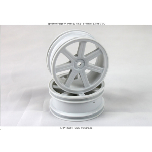 Spoke Wheel front white (2 pcs) - S10 Blast BX