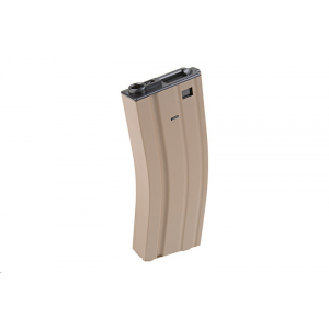 350rd hi-cap magazine for M4/M16 type replicas - tan