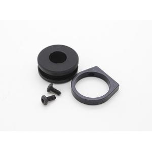 Shock absorbing CNC aluminum tube clamp (10mm) (1pc