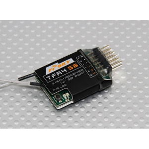 FrSky TFR4 SB 3/16ch 2.4Ghz S.BUS Receiver FASST Compatible