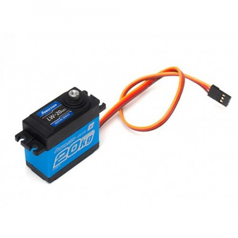 Servo Power HD LW-20MG atsparus vandeniui - standard