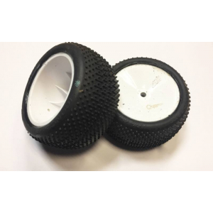 JCONCEPT Flip out supser soft galinės buggy padangos suklijuotos su JC ratlankiais 12mm hex