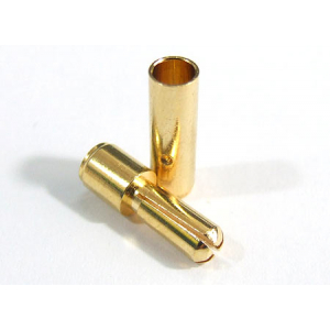 Gold Plated Spring Connector 3.5mm