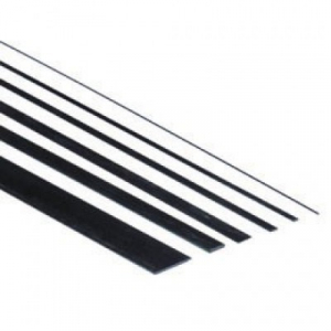 Plokštelė anglies pluošto 2x1000mm (storis 0.8mm)