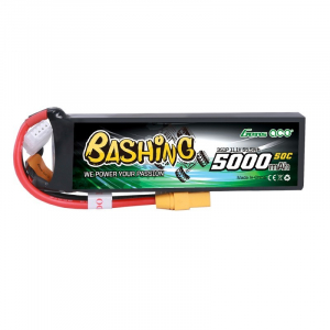 Gens ace 5000mAh 11.1V 3S1P 50C Lipo Battery Pack with XT-90 Plug Bashing Series