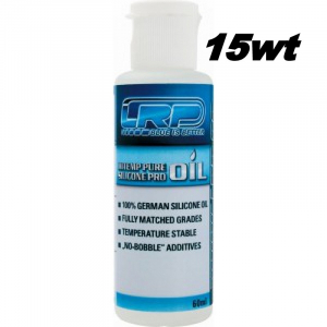 LRP 15wt HiTemp Pure Silicone Oil 60ml