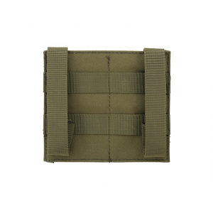 ELASTIC DOUBLE M4/M16 MAGAZINE POUCH - OLIVE [8FIELDS]