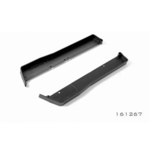 Composite Chassis Side Guards L + R - Hard