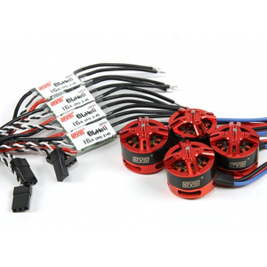 DYS BE1806 2300KV Combo set with 16amp Opto Speed Controller...