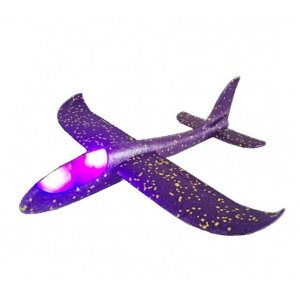 GPX Extreme : Glider with two flying modes (480mm span, LEDs) - blue