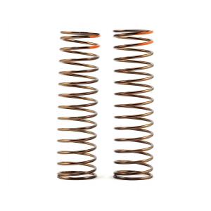 Tekno RC Low Frequency 85mm Rear Shock Spring Set (Orange - 2.75lb/in)