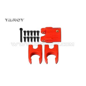 Tarot 16MM new carbon tube folding positioning seat group / red