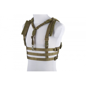 Dynamic Chest Rig Tactical Vest - Olive Drab
