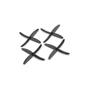 "Dalprops ""Indestructible"" PC 5040 4-Blade Props Black (CW/CCW) (2 pairs)"
