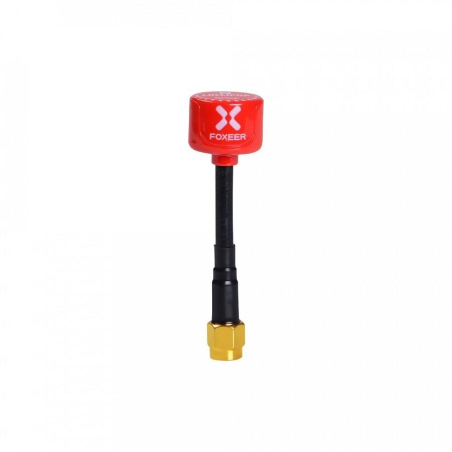 Foxeer 5.8G Lollipop 3 2.5DBi FPV Antenna SMA male - Red (1vnt.)