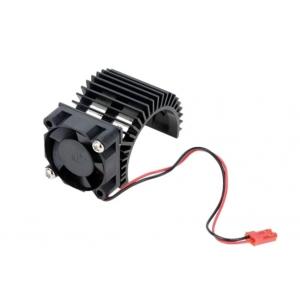 Motor Heat Sink w/Fan Black Aluminum (30mm)