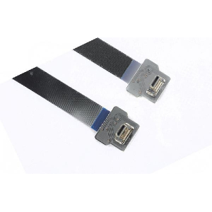 Super Soft Shielded Micro HDMI to Micro HDMI Cable - Black, 30CM