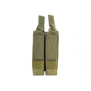 DOUBLE MAGAZINE POUCH FOR MP5/MP7/MP9 - OLIVE [8FIELDS]