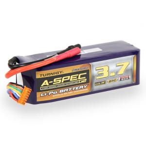 Turnigy nano-tech A-SPEC G2 3700mah 6S 65~130C Lipo akumuliatorius