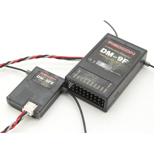 DM9F and DM9FS 2.4GHz DMSS Receiver and Satellite (Suits JR XG Series)