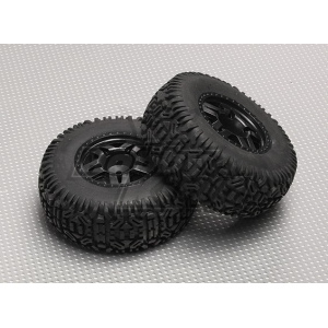 Tire/Wheel Set (2pcs/bag) - 1/10 Brushless 2WD Desert Racing Buggy