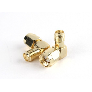 SMA Jack < - > SMA Plug 90 Degree Adapter