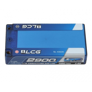"LRP Competition 2S LiPo 55C Hard Case ""LCG"" Shorty Battery P..."