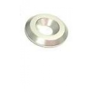 Sliver Anodised Aluminum M4 Countersunk Washer 1VNT