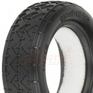 PRO-LINE Suburbs 2WD M4 1:10 Off-Road Buggy Front Tires (Super Soft)