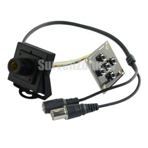 Plastic Cased 1200TVL Sony 1.3Mega CMOS Sensor Board Camera 2.8mm Lens DC5V-24v