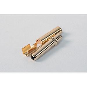 HXT 2.3mm Gold Connectors w/ crimp