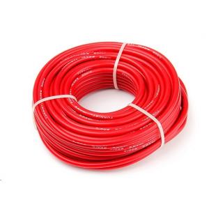 Aukštos kokybės 10AWG silikoninis laidas 15m (Red)