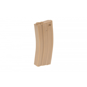 100rd mid-cap magazine for M4/M16 type replicas - tan