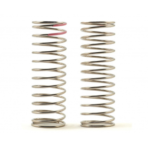 Tekno RC Low Frequency 70mm Rear Shock Spring Set (Pink - 2.28lb/in)