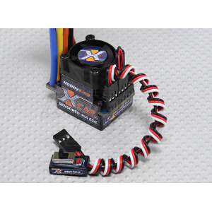 Hobbyking X-Car 45A Brushless Car ESC (sensored/sensorless)
