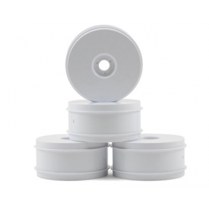Team Associated 83mm 1/8 Buggy Wheels (4) (White)