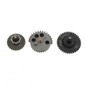 STEEL 16:1 GEARS SET - HIGH SPEED