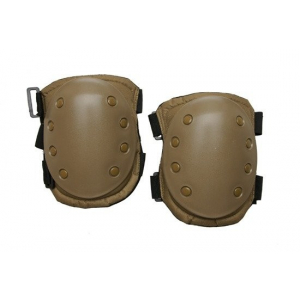 Set of knee protection pads - sand