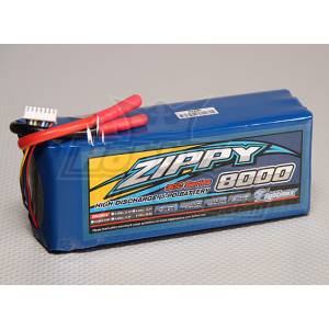 ZIPPY Flightmax 8000mAh 6S1P 30C