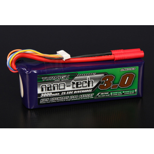 Turnigy nano-tech 3000mah 6S 25~50C Lipo Pack