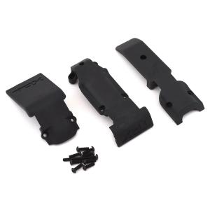 Traxxas Revo Front Skid plate Set (2 pieces, plastic)/ skid plate, rear (1 piece, plastic