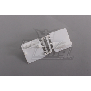 Servo Mount/Protectors White (1pcs/bag) 64mm x 67mm