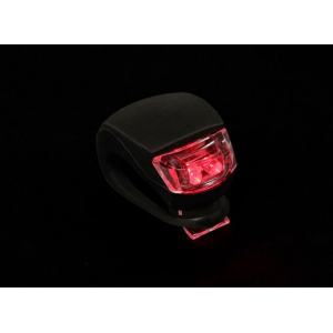 Black Silicon Mini-Lamp (Red LED)
