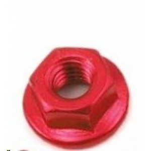 Yeah Racing 4mm Aluminum Serrated Lock Nut