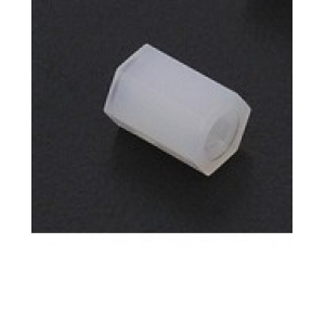 5.6mm x 8mm M3 Nylon Tapped Spacer