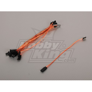 20CM Servo Lead (JR) 32AWG Ultra Light