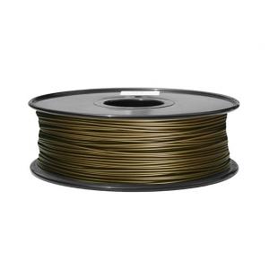 3D Printer Filament 1.75mm Metal Composite 0.5KG Spool (Brass)
