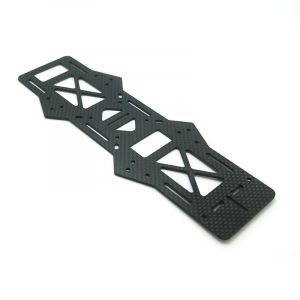 250 Quadcopter Frame Kit Pure Carbon Fiber Parts - Middle Board