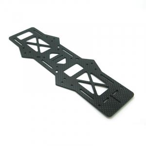 250 Quadcopter Frame Kit Pure Carbon Fiber Parts - Middle Board
