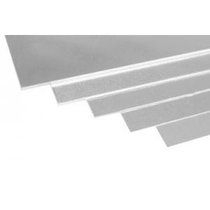 aluminium 500x250x0,2 mm